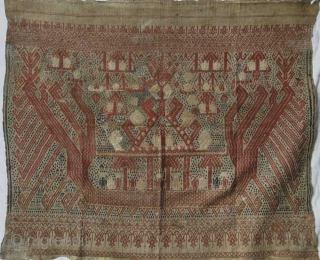 415 Antique Kalianda Tampan Shipcloth - Sumatra