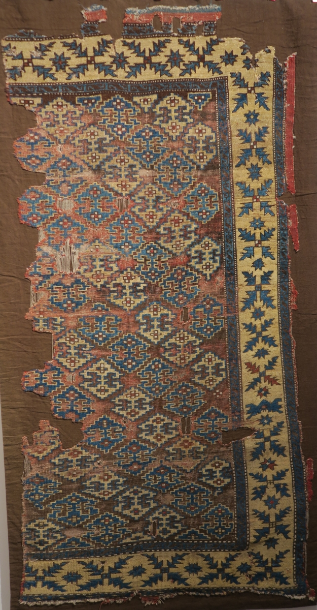 Rugs from the Christopher Alexander Collection at Sotheby's: Turkish rug fragment