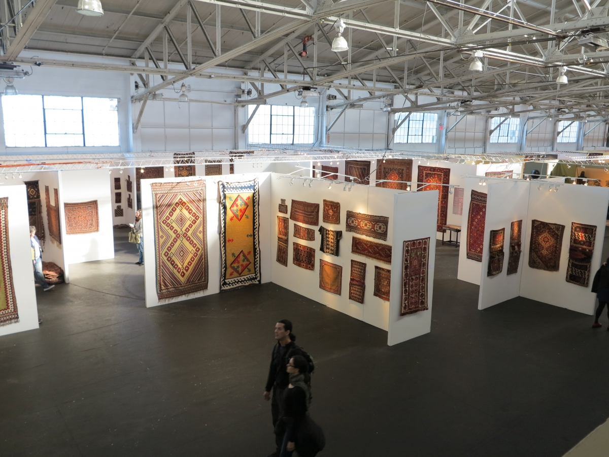 San Francisco Tribal and Textile Art Show, Artful Weavings