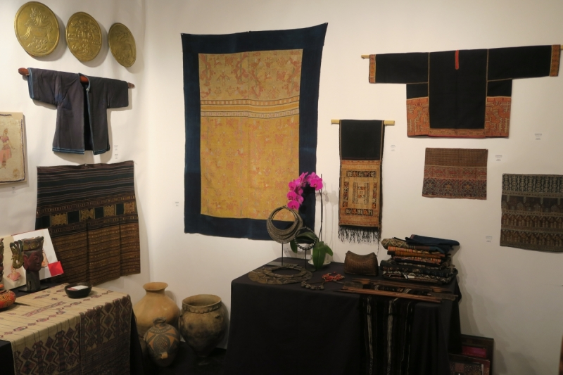 San Francisco Textile and Tribal Art Show 2018, Wenhua Liu