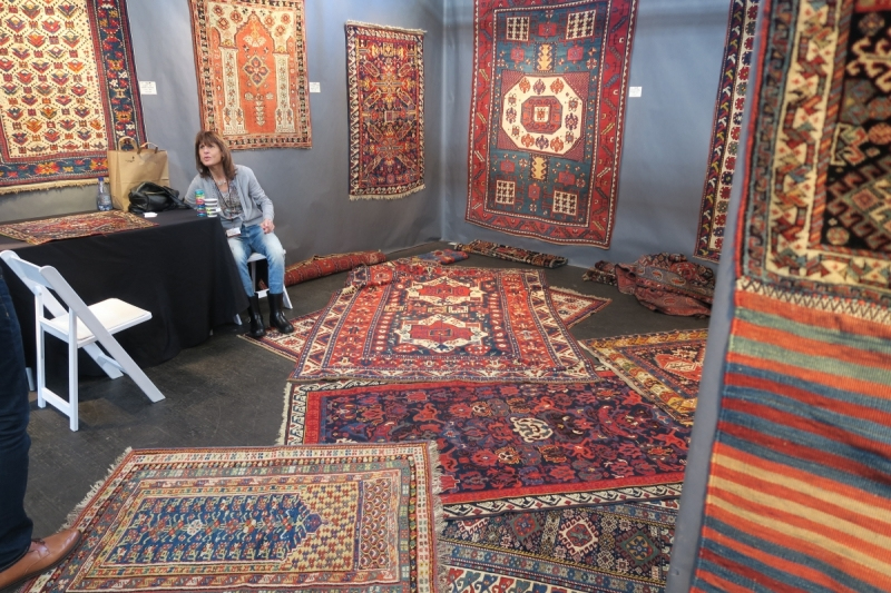 San Francisco Textile and Tribal Art Show 2018, Hagop Manoyan