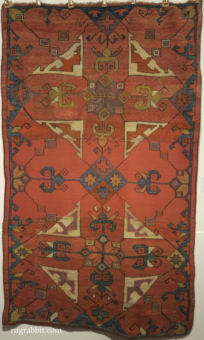 Rugs from the Christopher Alexander Collection at Sotheby's: central Anatolian rug fragment