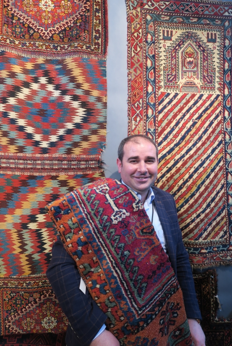 Anatolian Picker San Francisco Tribal & Textile Arts Show, 2019