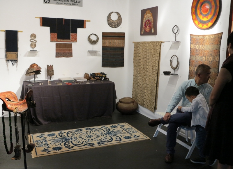 San Francisco Tribal and Textile Art Show: Wenhua Liu