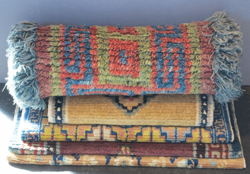 San Francisco Tribal and Textile Art Show: John Ruddy, Tibetan Rugs, Wangden rug